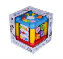 קוביית ההפתעות - קופסת פעילות דוברת עברית Spark Toys