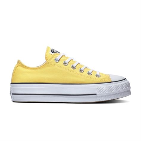 Converse נשים - פלטפורמה צהובות