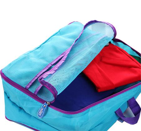 סט 5 חלקים לארגון המטען במזוודה כולל 5 חלקים נפרדים, בגדלים שונים - תמונה 5