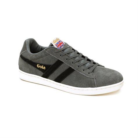 Gola Equipe Cma495 - נעלי סניקרס ספורטיביות בעיצוב עכשווי בצבע אפורשחור