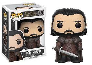 Funko Pop - Jhon Snow S7 (Game Of Thrones) 49 בובת פופ  משחקי הכס