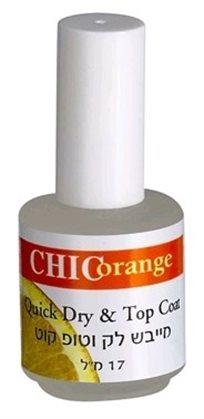 Chic Orange Quick Dry & Top Coat