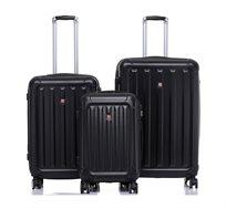 סט מזוודות קשיחות SWISS ALPS במבחר צבעים
