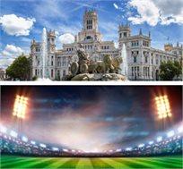 3 לילות במדריד כולל כרטיס לריאל מדריד מול מלאגה החל מכ-€624*