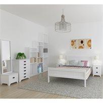 חדר שינה שלם 5 חלקים בעיצוב מודרני מעץ מלא מבית HOME DECOR