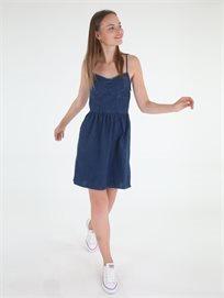 שמלת פפה ג'ינס קלואי לנשים