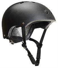 קסדה בטיחותית לפעוטות וילדים עם מנגנון התאמה לראש ו 11 פתחי איוורור מידה M שחור