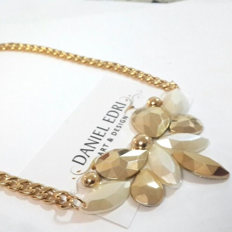 שרשרת מיני אליטה- זהב פנינה