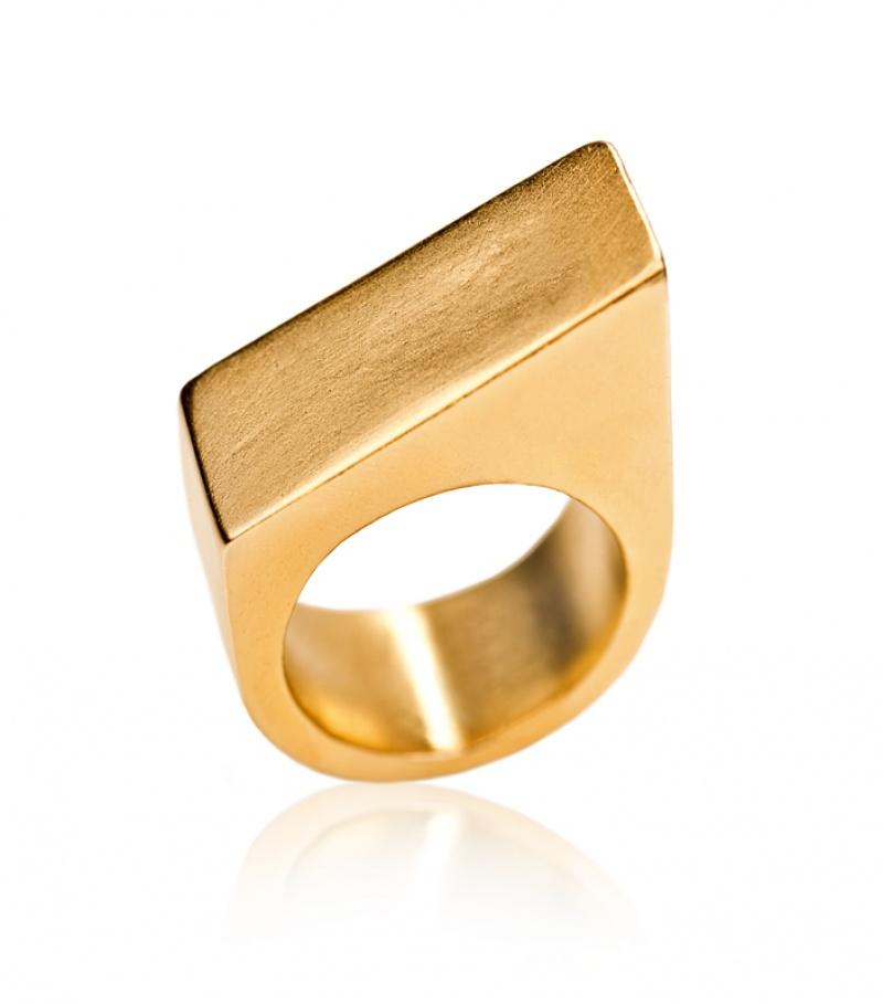 טבעת חותם הנרי זהב