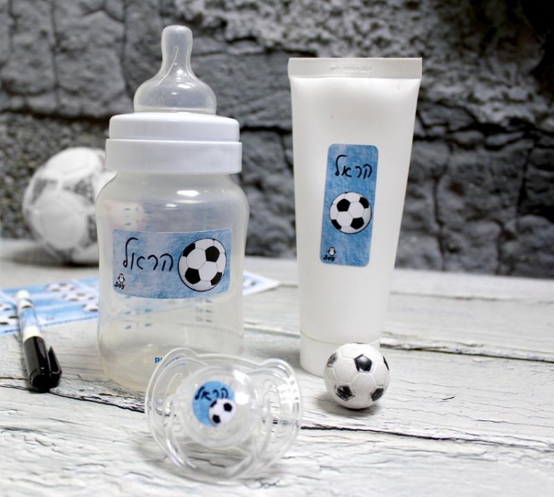 מדבקות טושטוש - דגם כדורגל