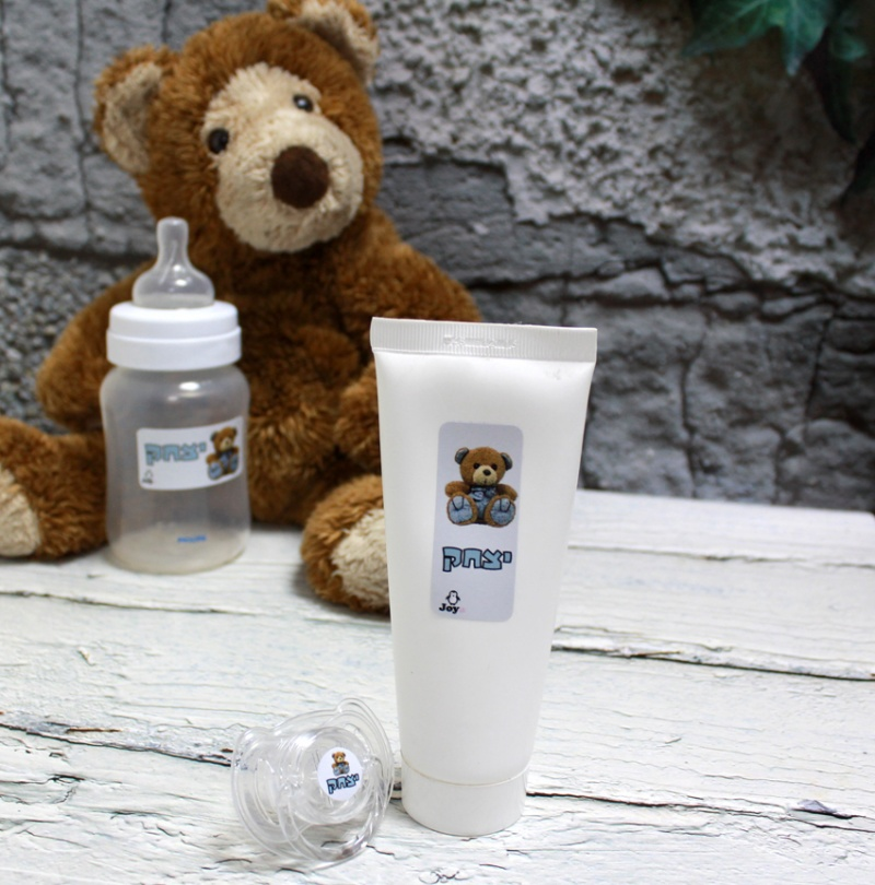 מדבקות סימון - דגם דובי