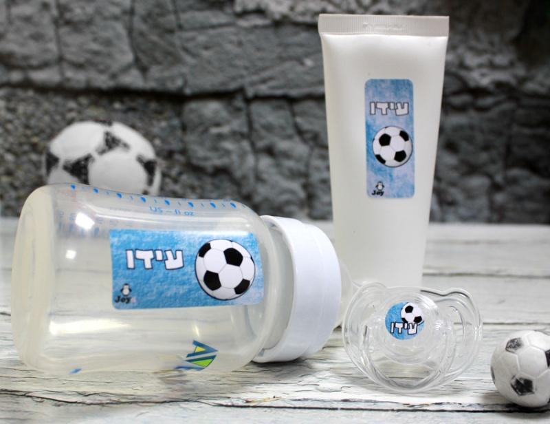 מדבקות סימון - דגם כדורגל