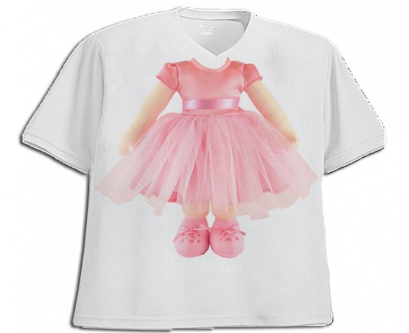 חולצת תחפושת דגם בלרינה