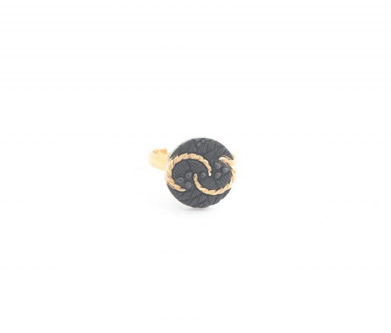 טבעת Candy שחורה
