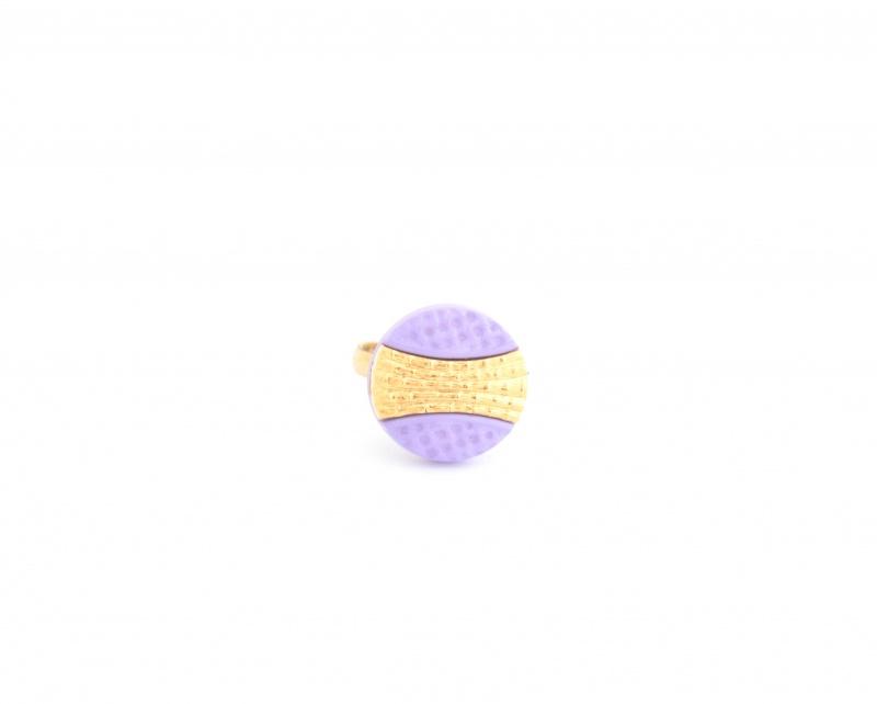 טבעת קלי סגולה