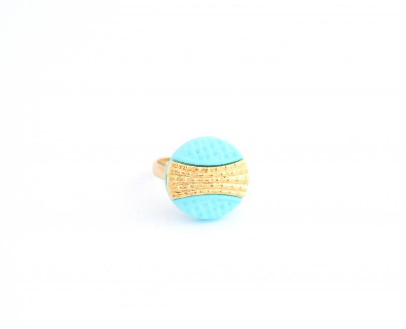 טבעת קלי טורקיז