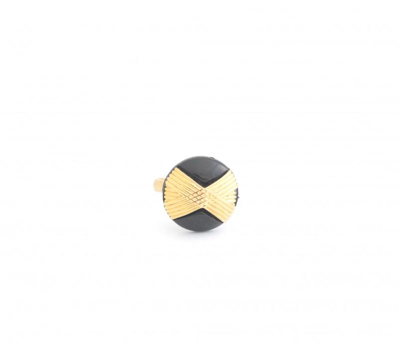 טבעת איקס שחורה