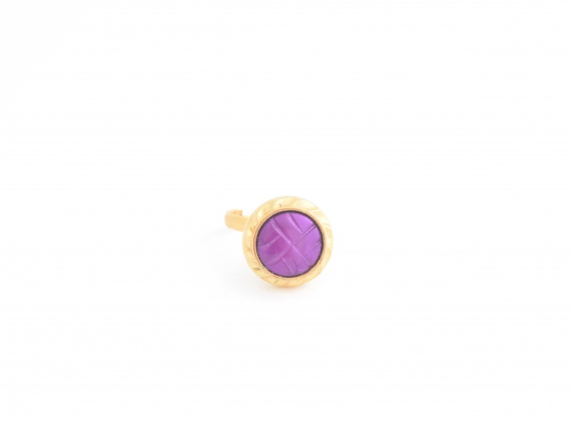טבעת ברנדה סגולה