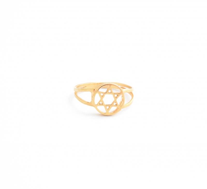 טבעת מגן דוד גולדפילד