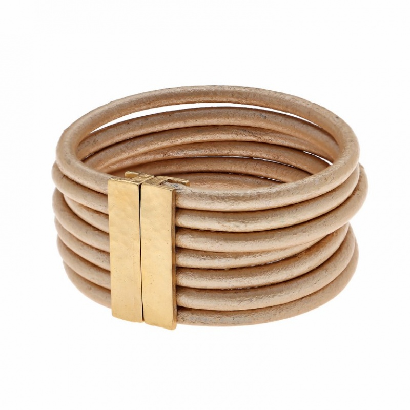 צמיד חגורה זהב