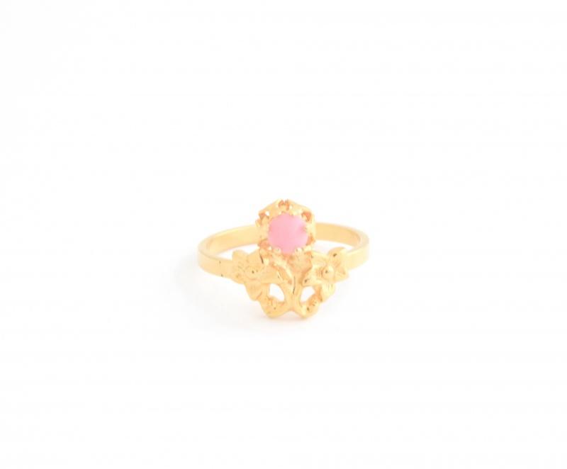 טבעת דיאנה-אבן ורודה