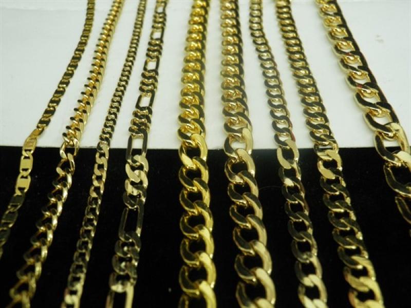 הארכה של שרשרת בציפוי זהב