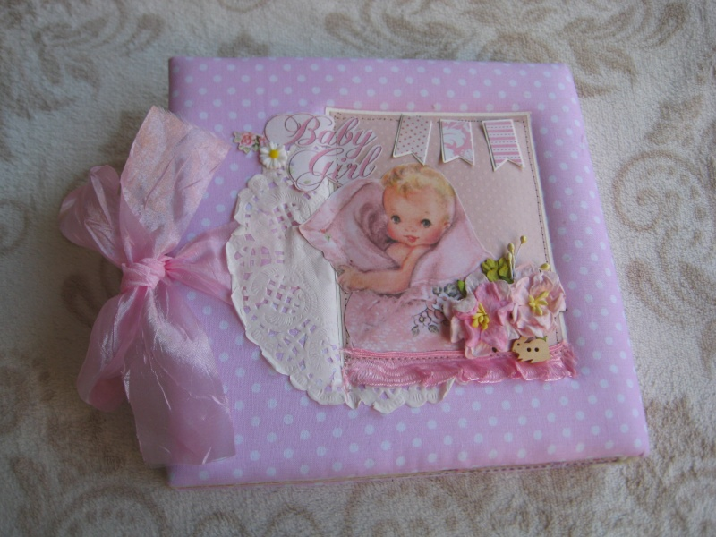 אלבום לתינוקת כריכת בד