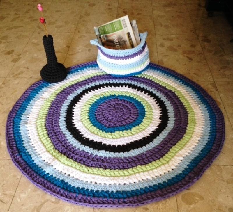 שטיח סלסלה ואגרטל