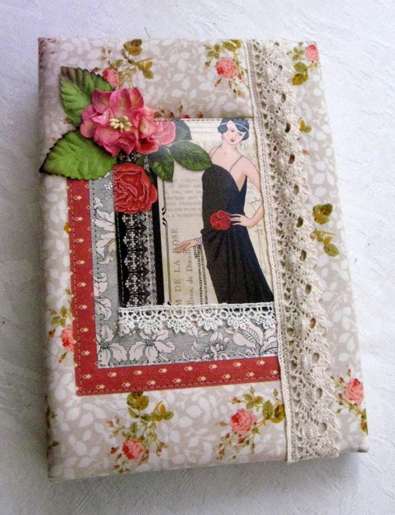 ספר ברכות / יומן / ספר זכרונות לאישה כריכת בד