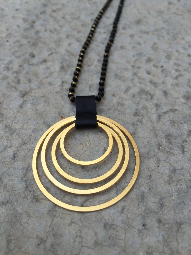 שרשרת מעגל החיים זהב