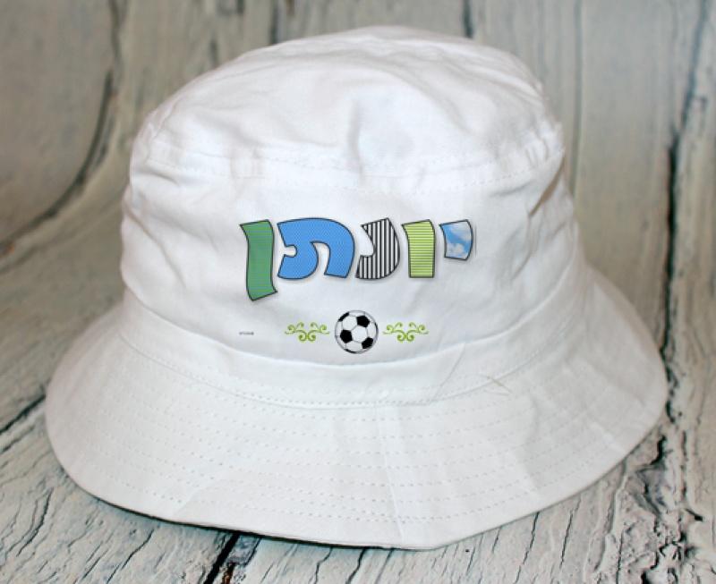 כובע פטריה - דגם כדורגל