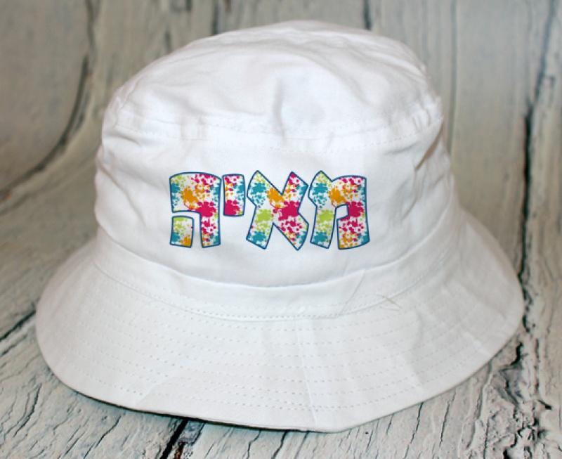 כובע פטריה - דגם צבעוני