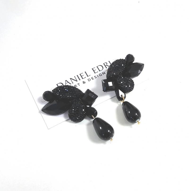 עגיל גלית שחור