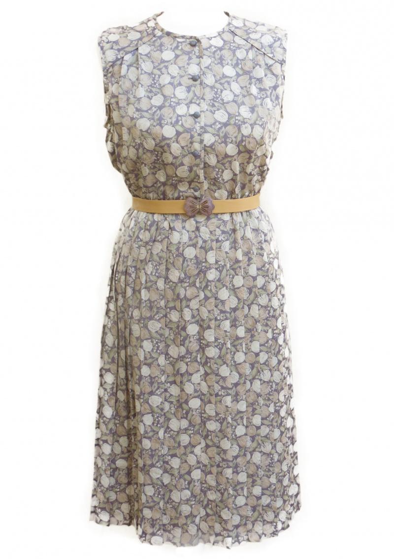 שמלת וינטג' אלמוג