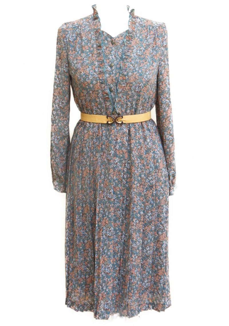 שמלת וינטג' רקפת