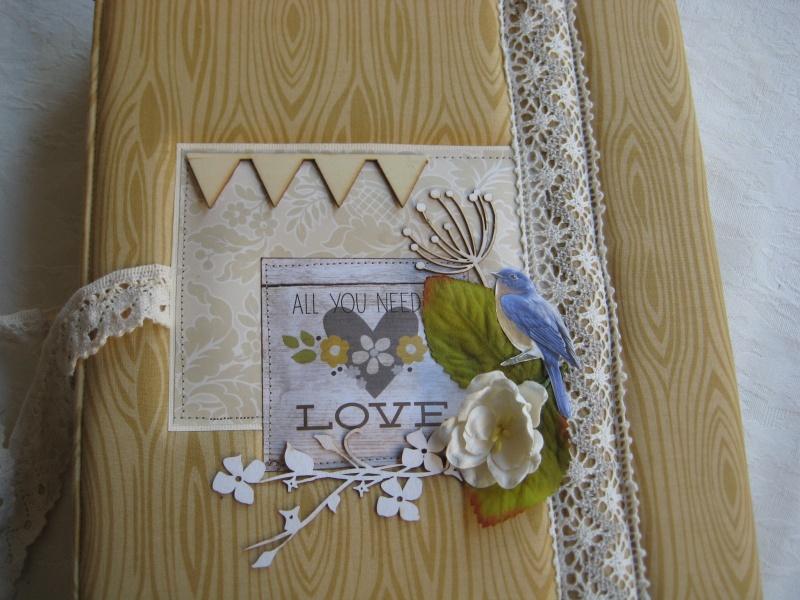אלבום לחתונה בסגנון כפרי
