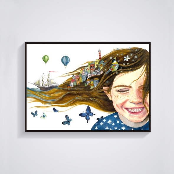 גלויה ג'ינג'ית