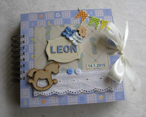 אלבום | מתנה לתינוק דגם לאון