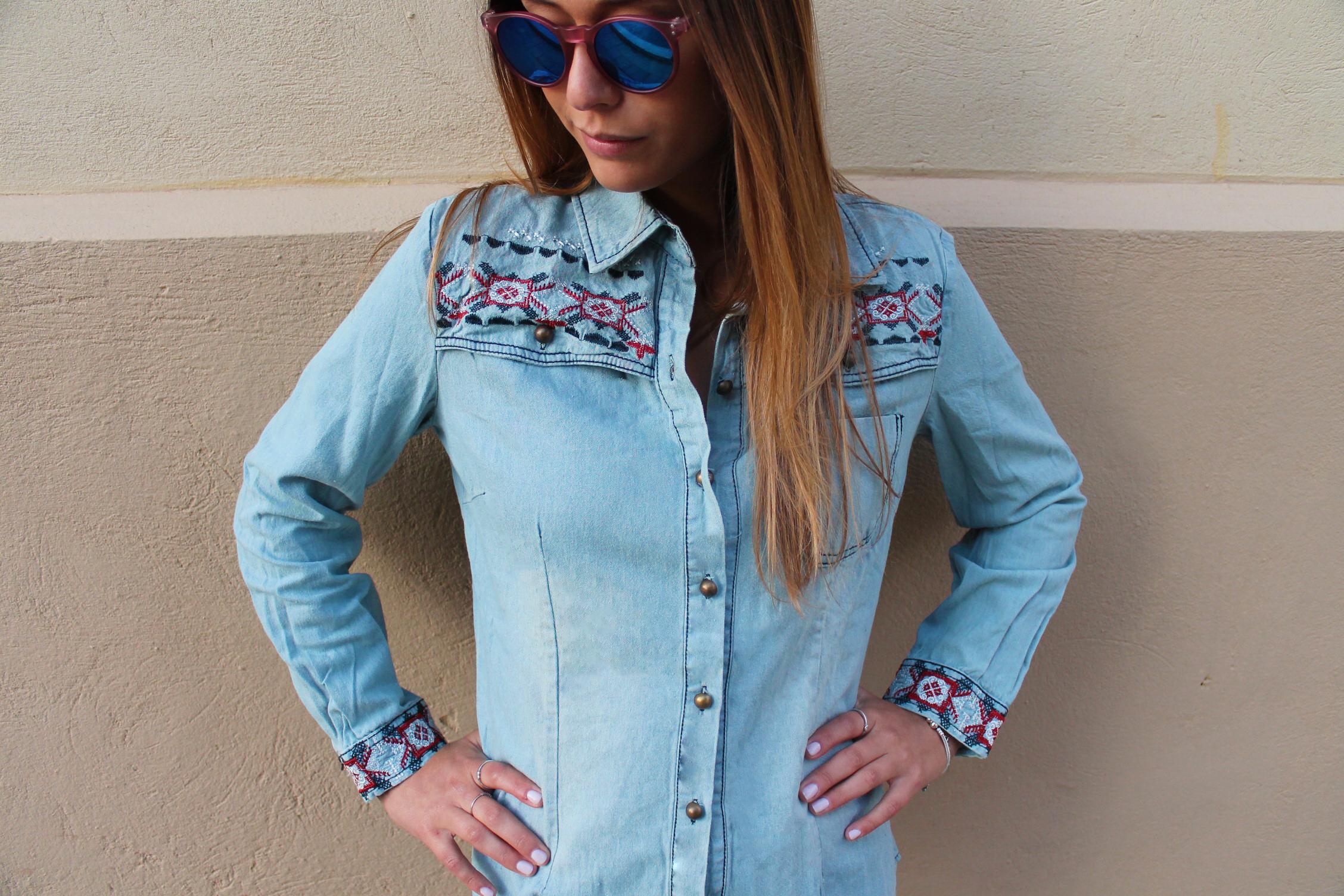 חולצת ג'ינס פרו