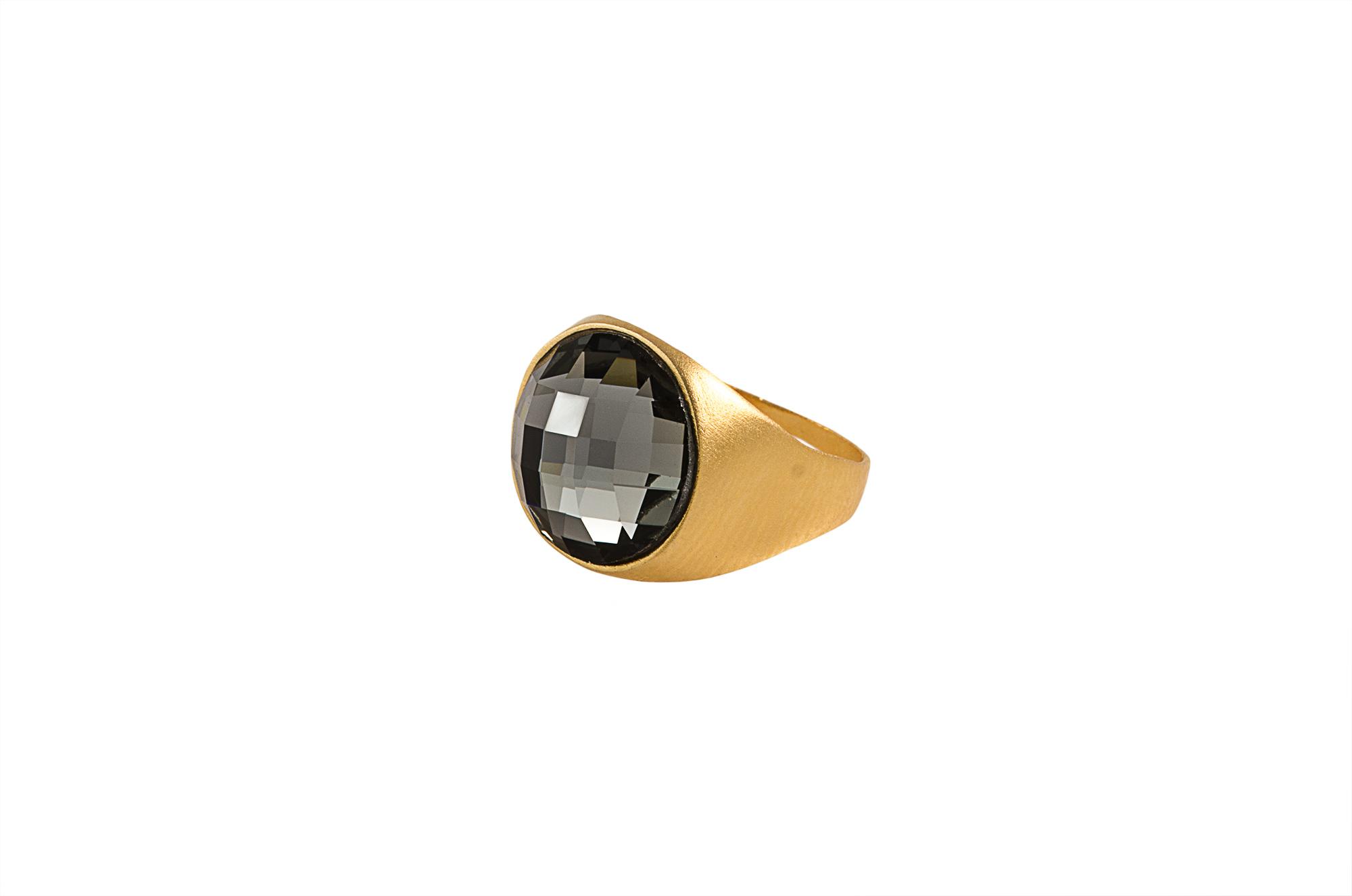 טבעת ליאה זהב לזרת