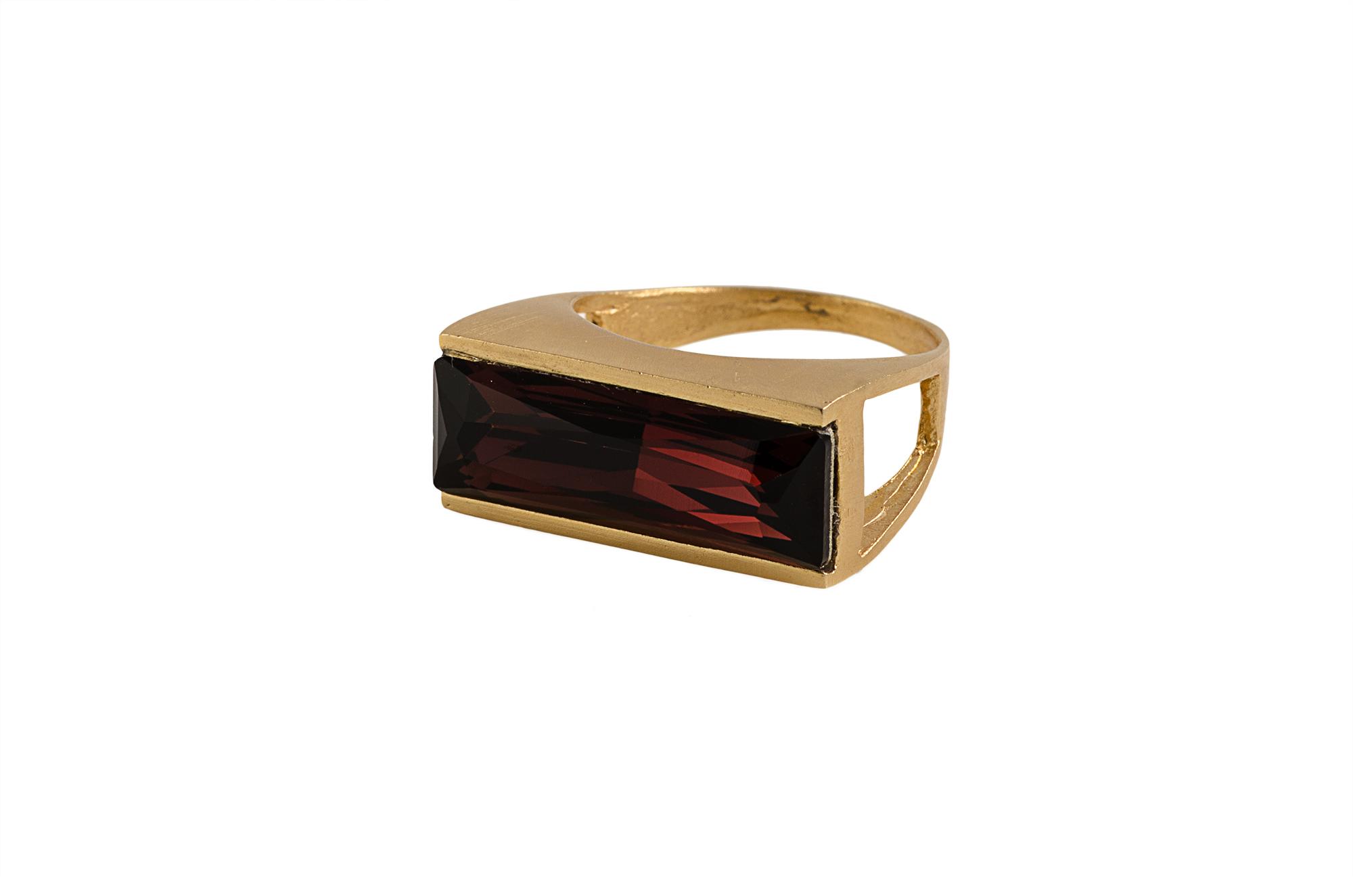 טבעת power זהב אדום
