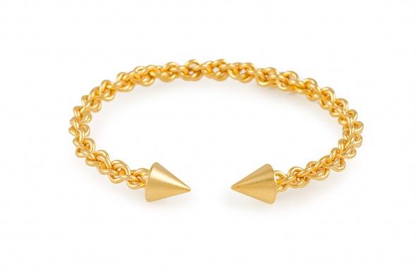 צמיד ראש חץ זהב