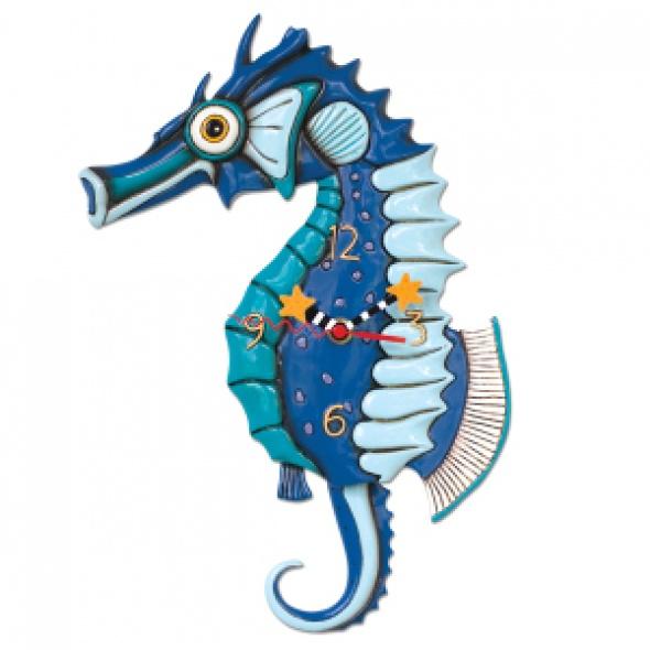 שעון קיר סוסון ים