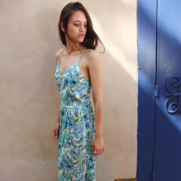 שמלת מקסי מקסיקו