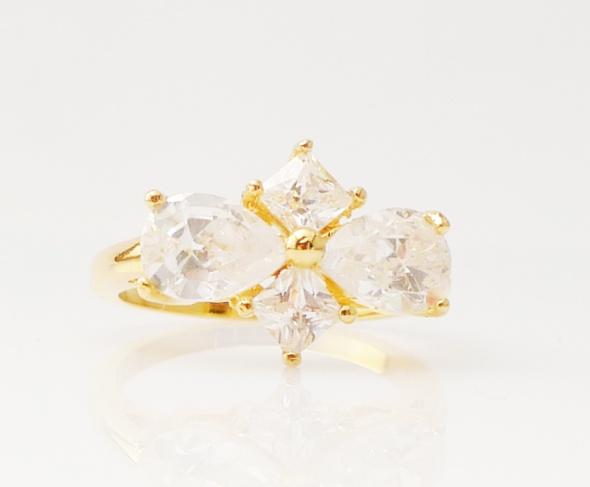 טבעת גולדפילד זרקונים