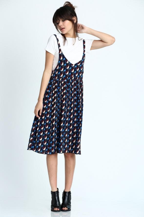 שמלת מידי אוברסייז 90'