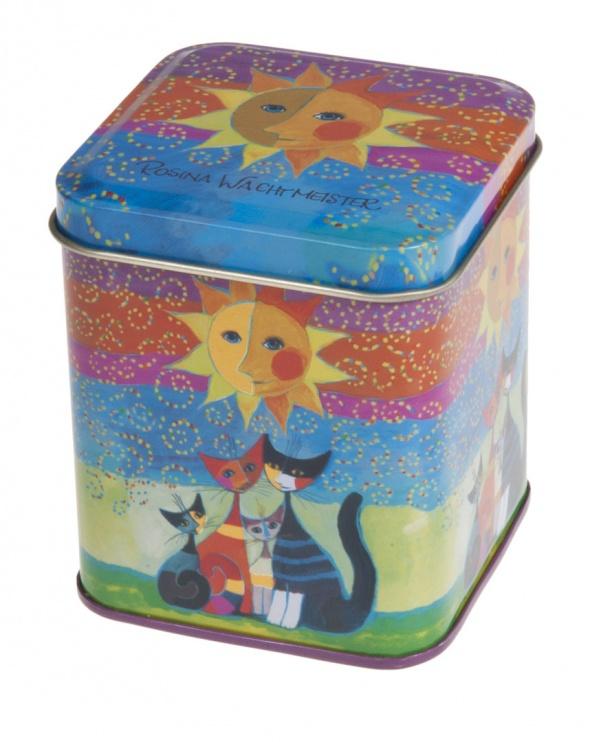 קופסת פח חתולית דגם שמש