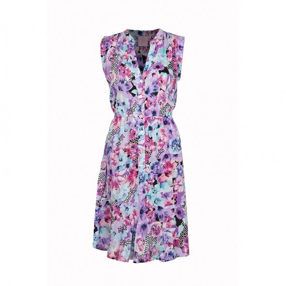שמלת גלים פרימוורה