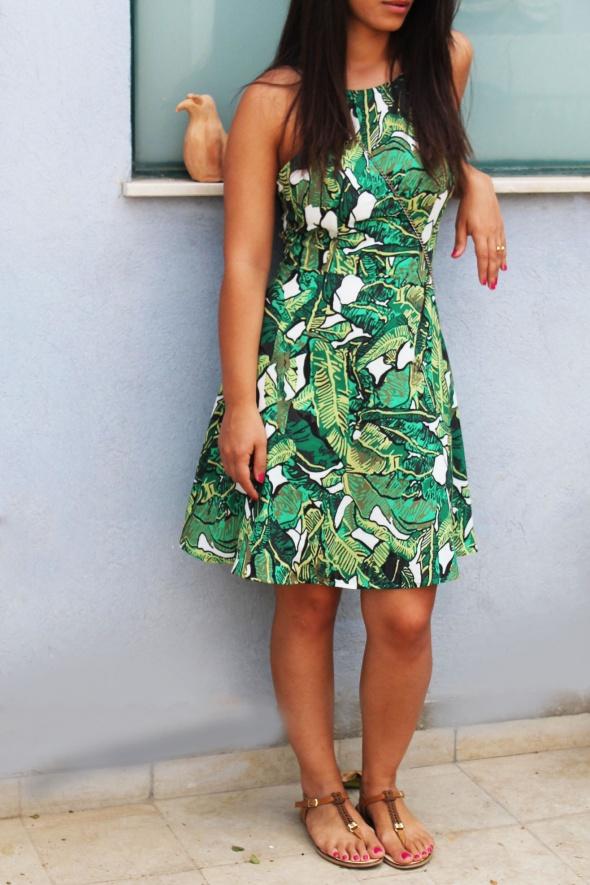 שמלת tropicali