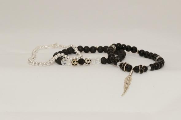 Black & Silver set